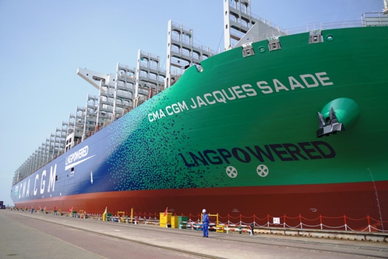 Navio - Gás GNL - contêineres