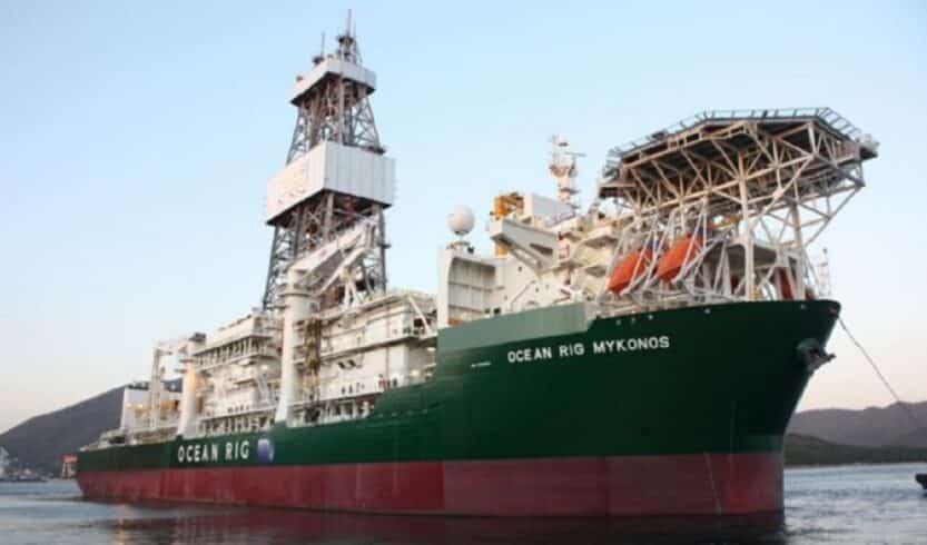 Petrobras Navio Perfuração Deepwater Corcovado Mikonos