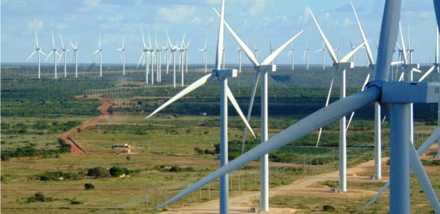 Energia eólica - parques eólicos - Santa eugenia