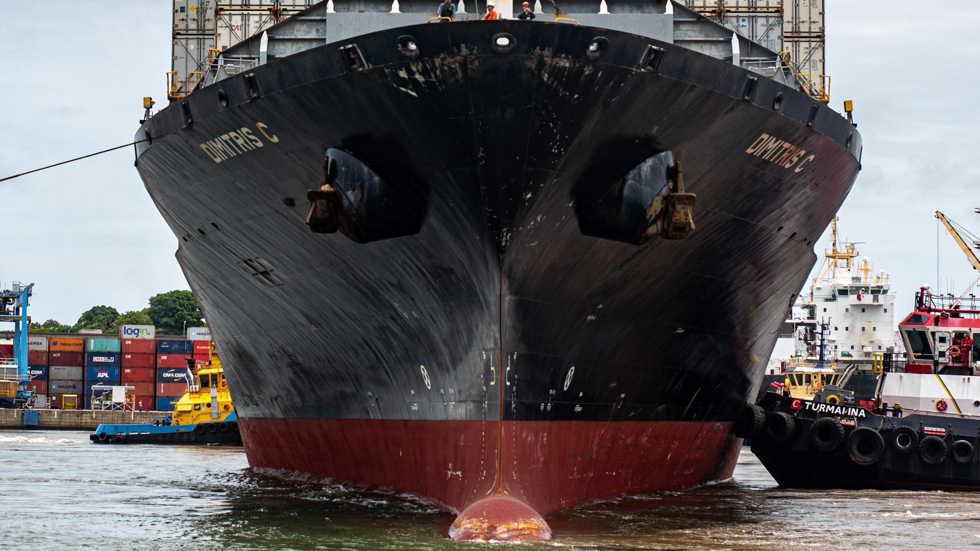navios - Porto de vitória - dimitris c