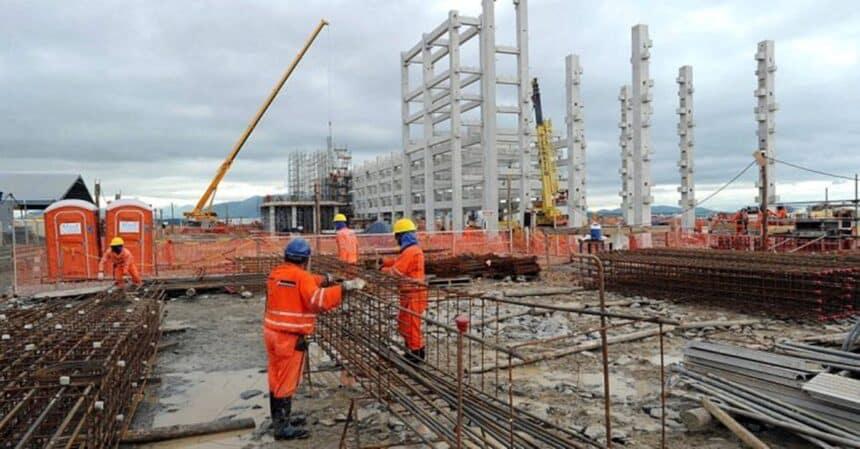 construção civil -emprego - minas gerais