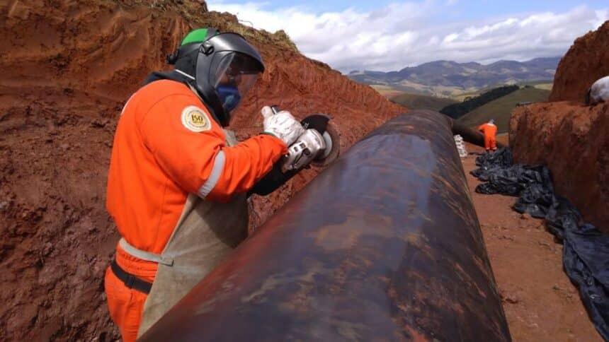 Bahia com muitas vagas de emprego em obras de dutos