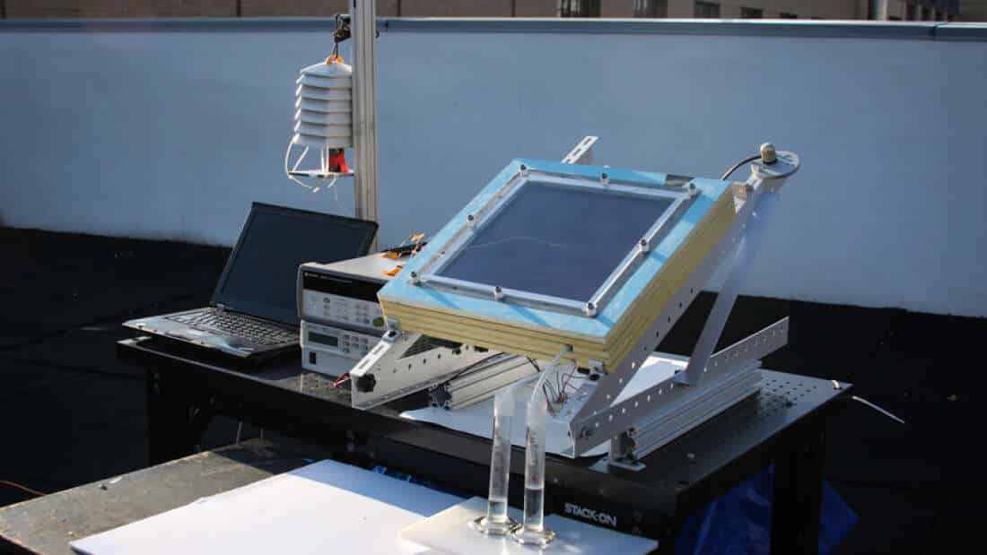 Energia solar - tecnologia - água
