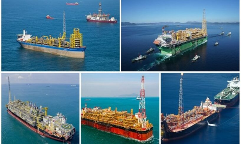 Petrobras Petróleo FPSO campo de Búzios