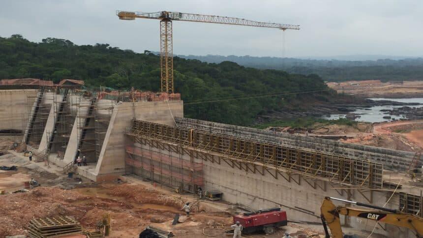 Goiás - usina - hidrelétrica