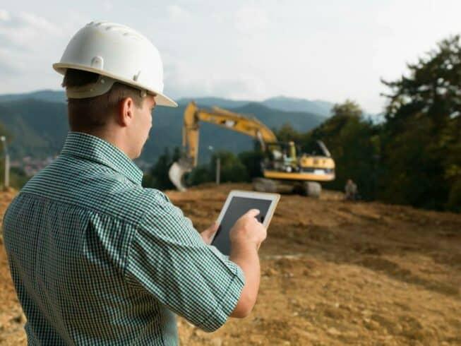 Ganhos - construção civil - tecnologia