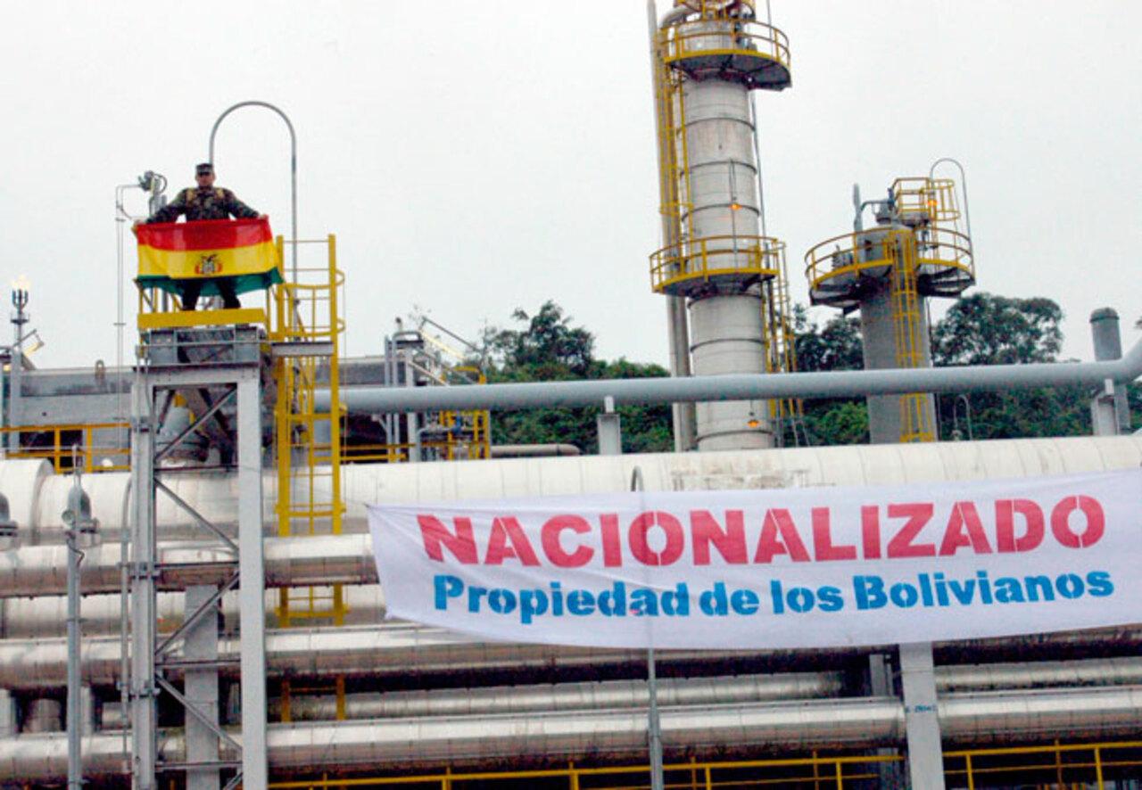 Bolívia - Gás - fornecimento