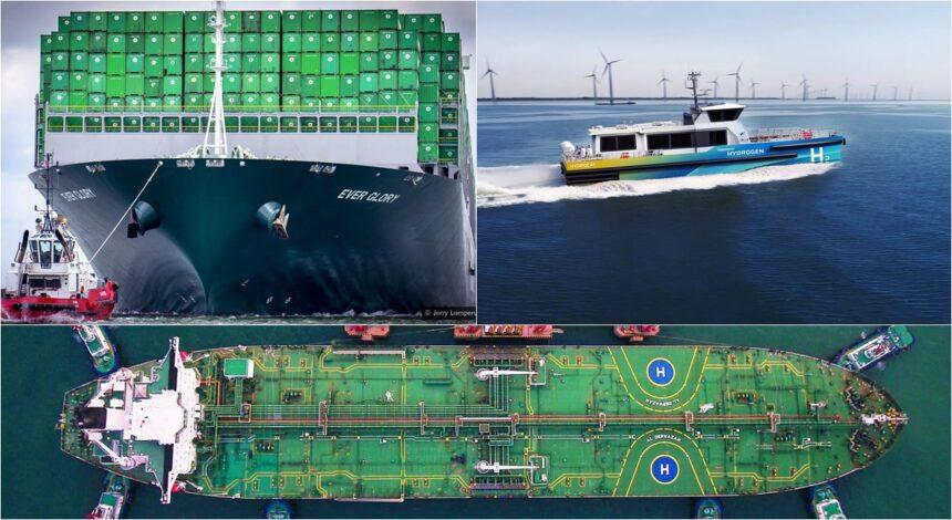 Combustível Hidrogênio Navio Embarcação Gases de Efeito Estufa