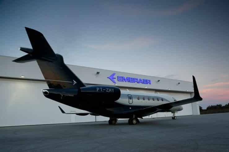 Embraer - aviação - energia