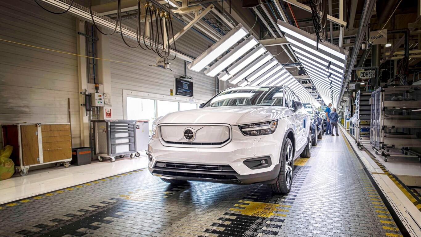 Fabricante - carros elétricos - volvo
