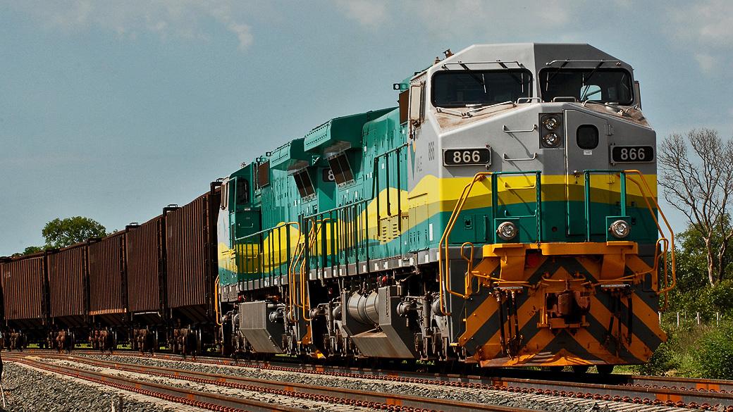 Investimentos, ferrovia, Santos
