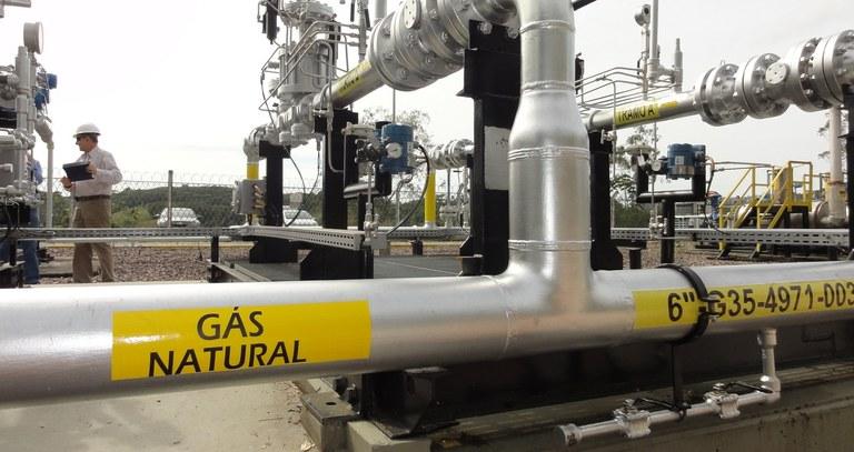 Gás, investimentos