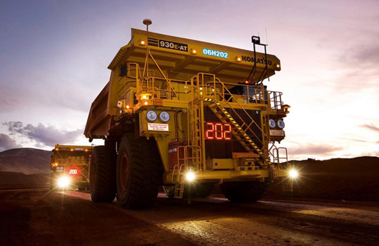 Vale - caminhões - mineração