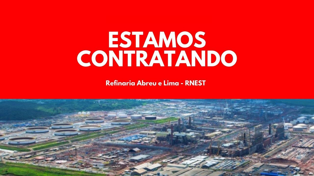Petrobras Refinaria Abreu e Lima RNEST Pernambuco Ipojuca Parada de Manutenção
