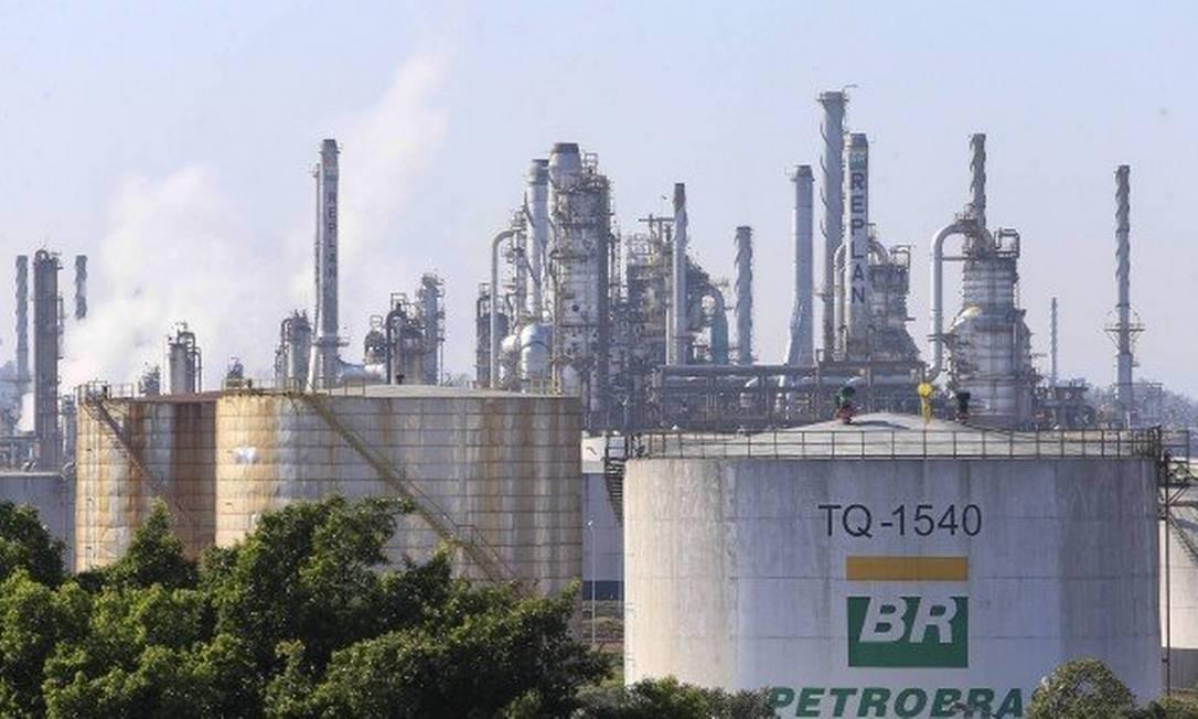 Petrobras refinaria gás natural
