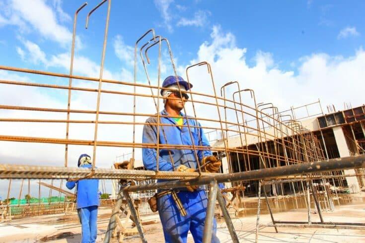 construção civil - obras - vagas de emprego