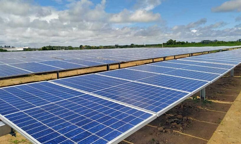 Energia renovável, usinas, fotovoltaica