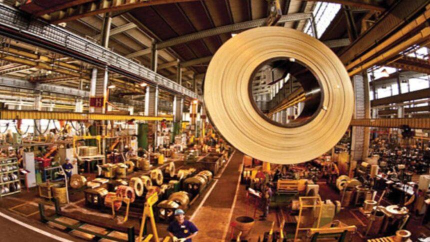 aço - siderúrgica - indústria