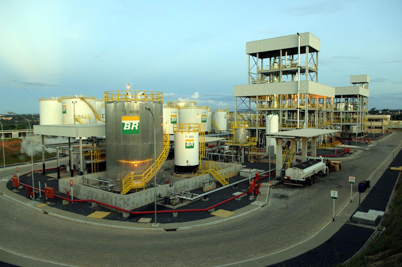 Brasilcom - refinarias - Petrobras