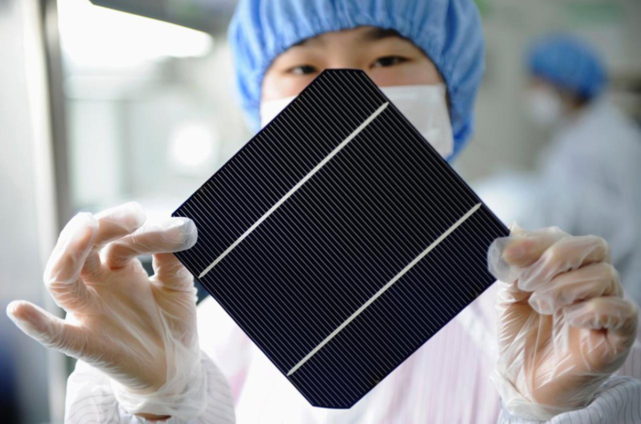 Energia solar - energia renovável - Smartphone