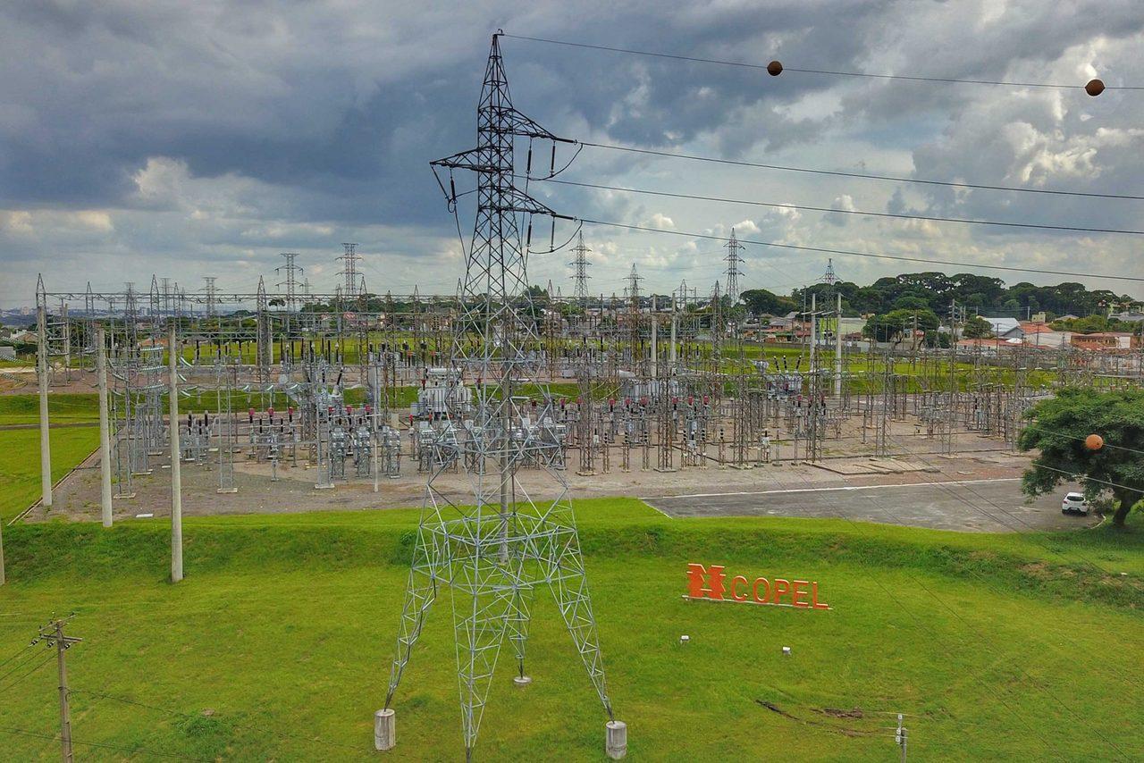 Copel - energia - porto de Paranaguá