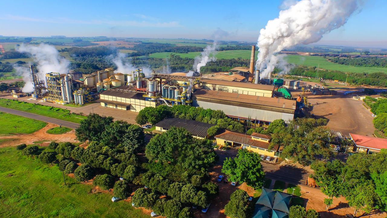 Usinas - cana de açúcar - indústria