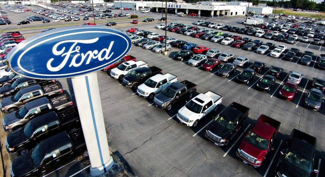 Ford, fábricas, produção