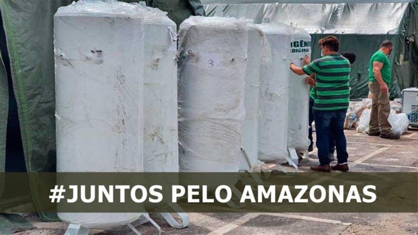 AMAZONAS - USINA - OXIGÊNIO - AMBEV - COCA COLA - NESTLÉ - PTROBRAS - WEG