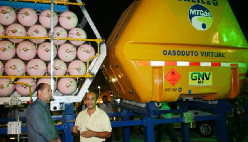 Gás natural - MT Gás - investimenos