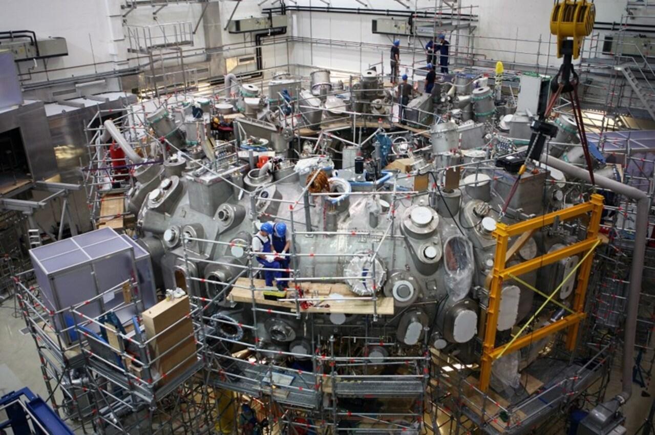 Reator - fusão nuclear - energia