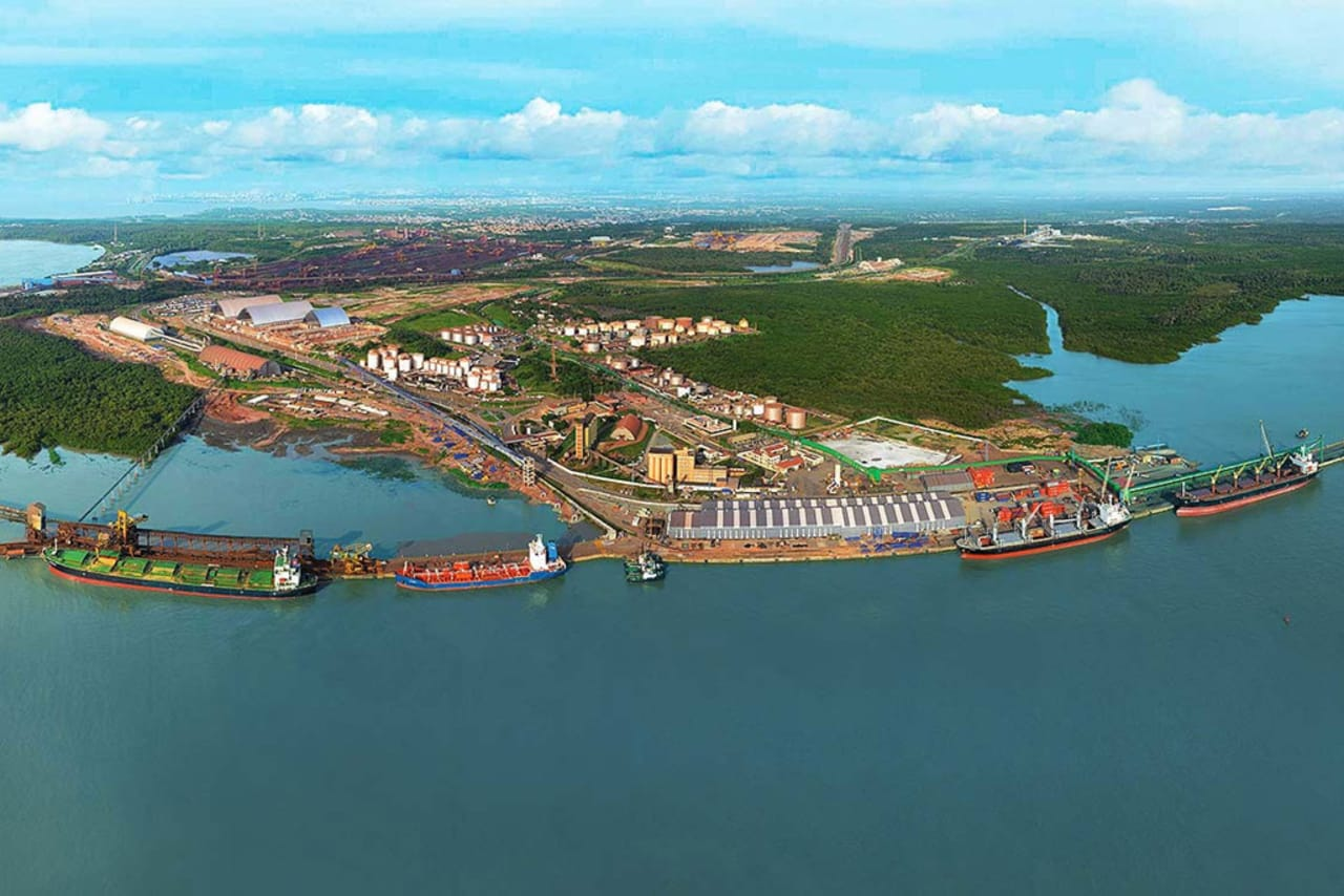 Porto do Itaqui - São luís - cargas