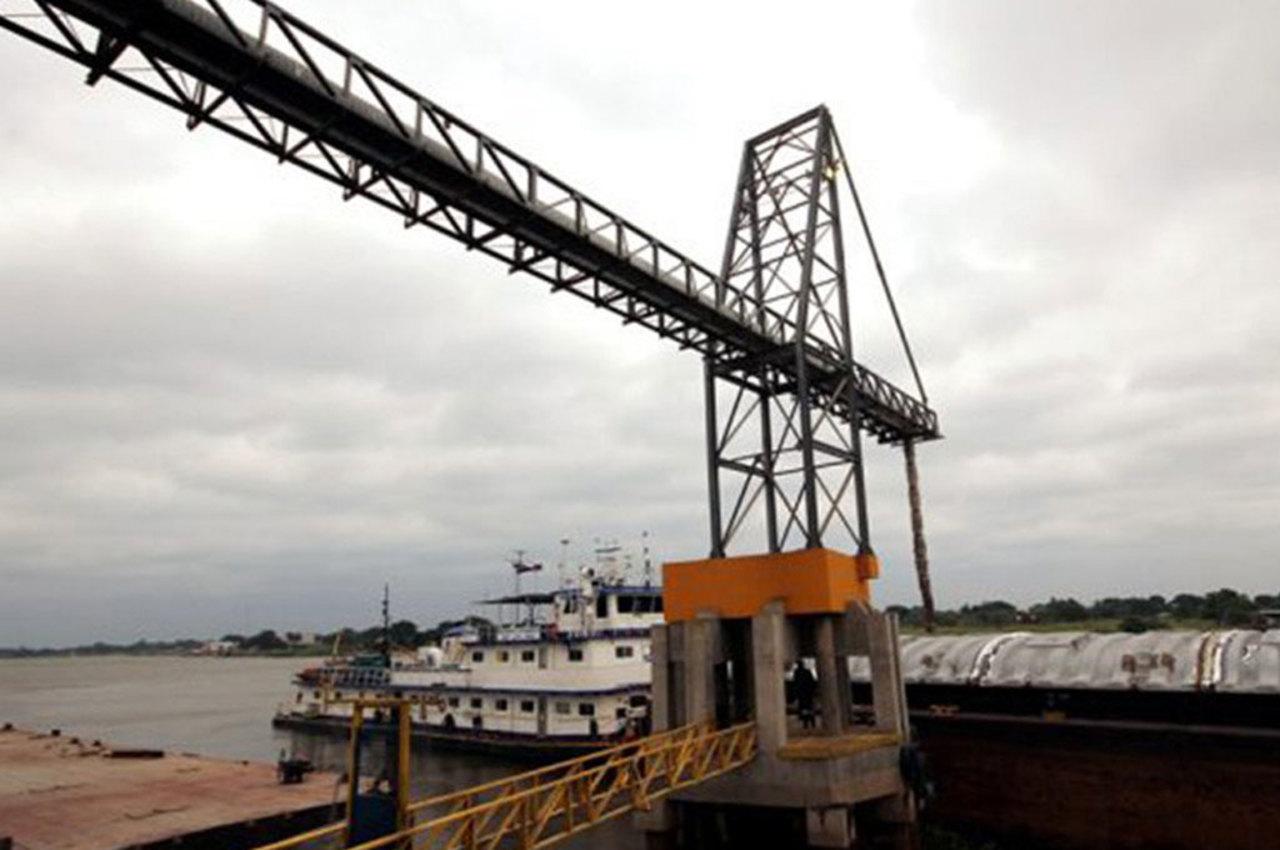 portos - Exportações - MS