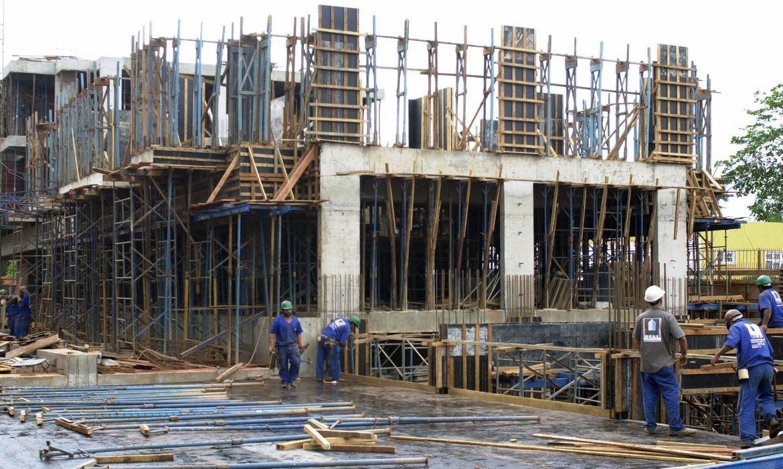 Construção civil - Minha casa minha vida - indústria - Nordeste