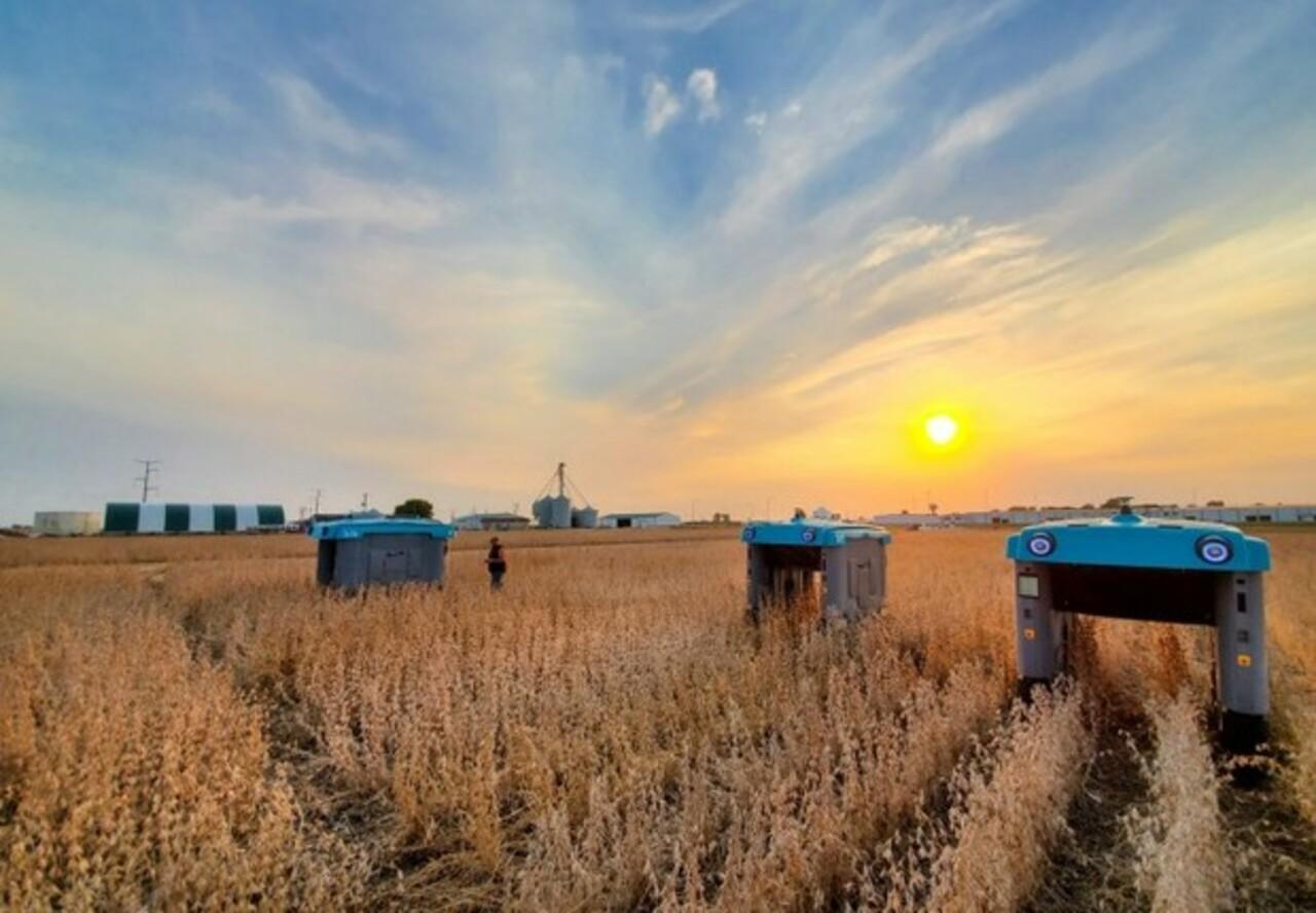 Robô - energia solar - agricultura
