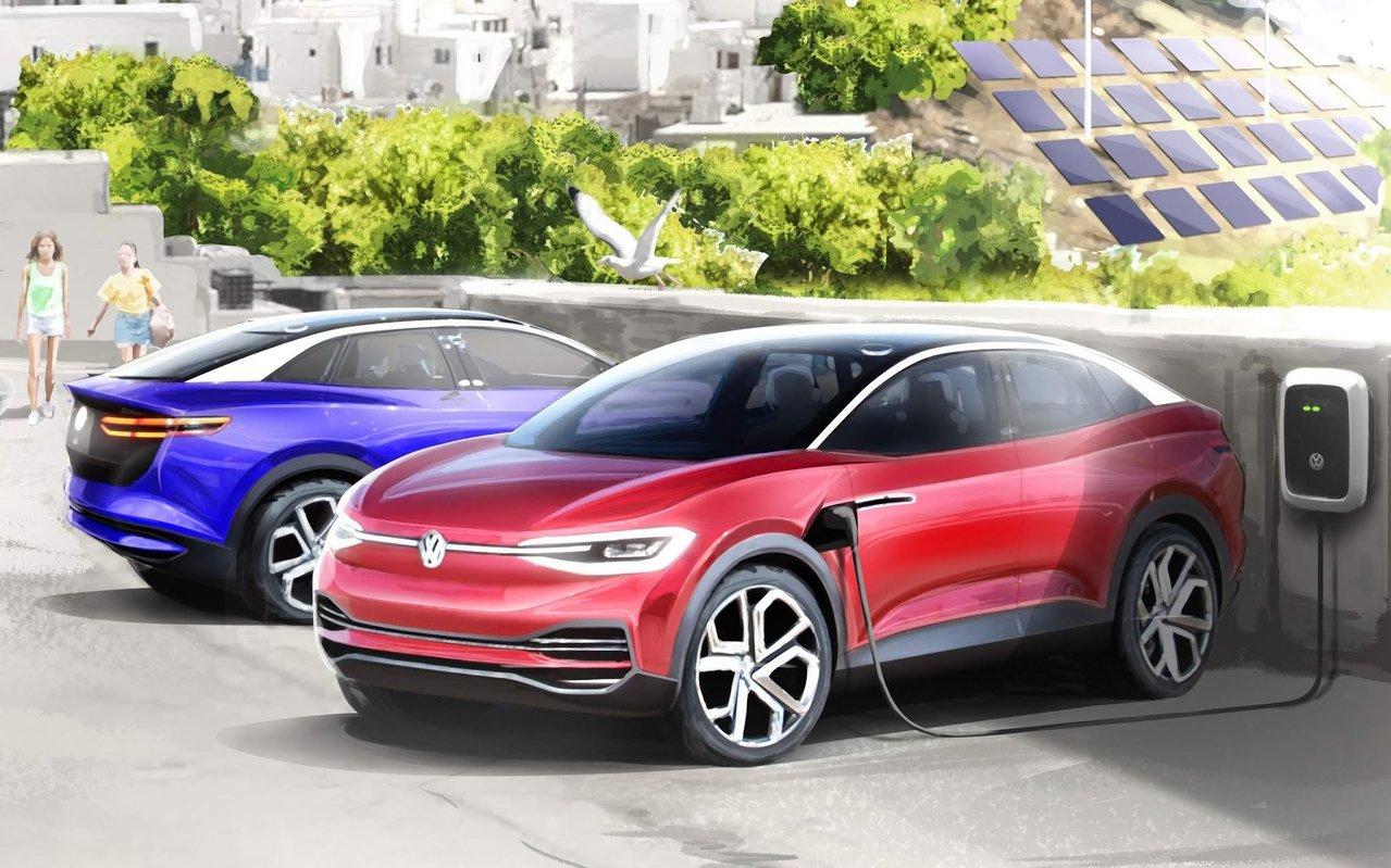 Volkswagen - Tesla - carros elétricos