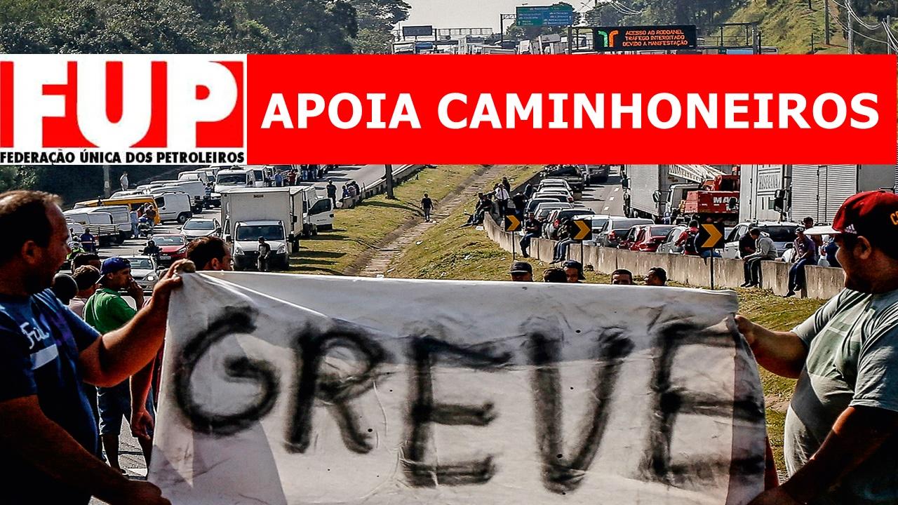 GREVE - CAMINHONEIROS - FUP - PREÇO - DIESEL