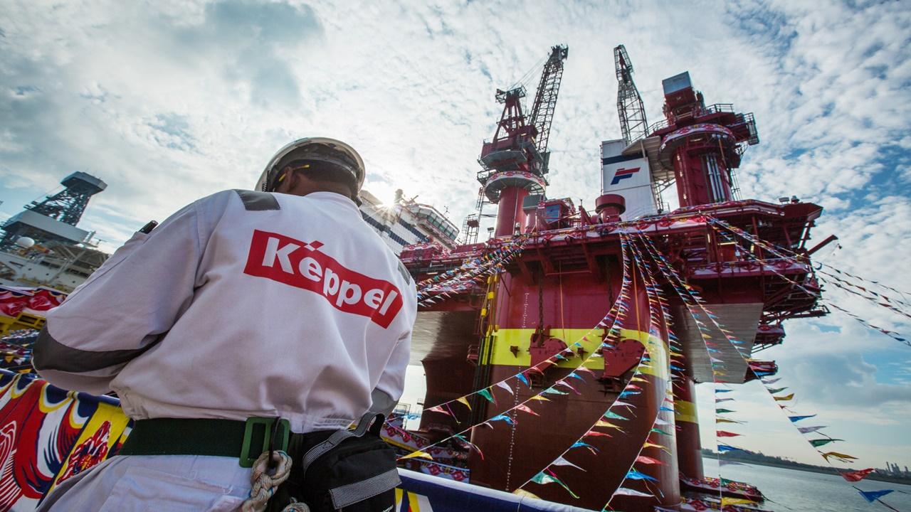 plataformas - offshore - O&M keppel - construção