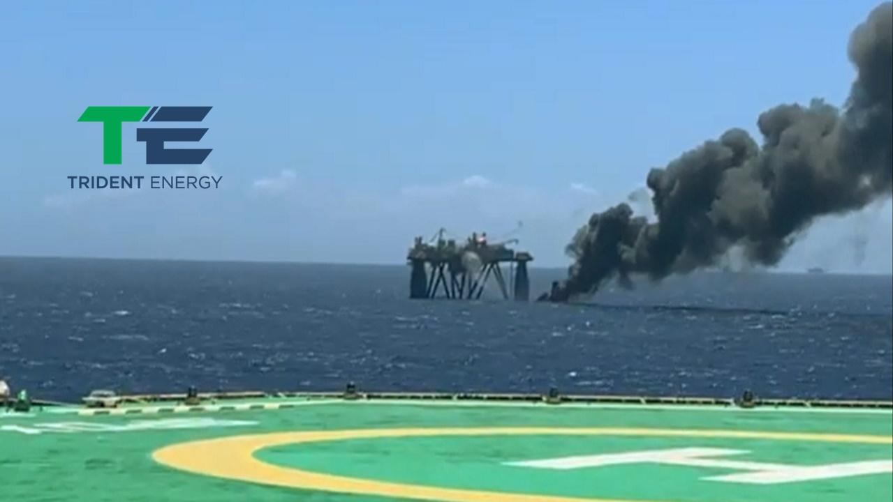 trident energy - petróleo e gás - plataforma - bacia de campos