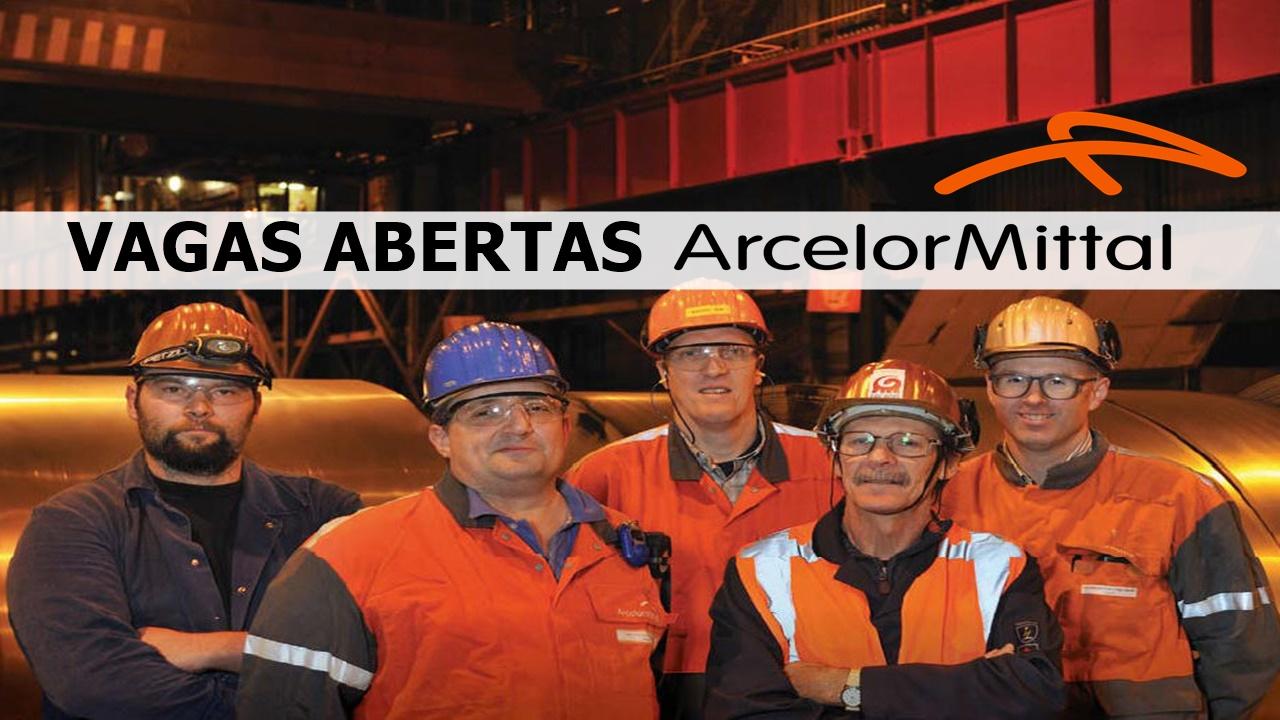 emprego - ArcelorMittal - aço- vagas - PCD - estágio