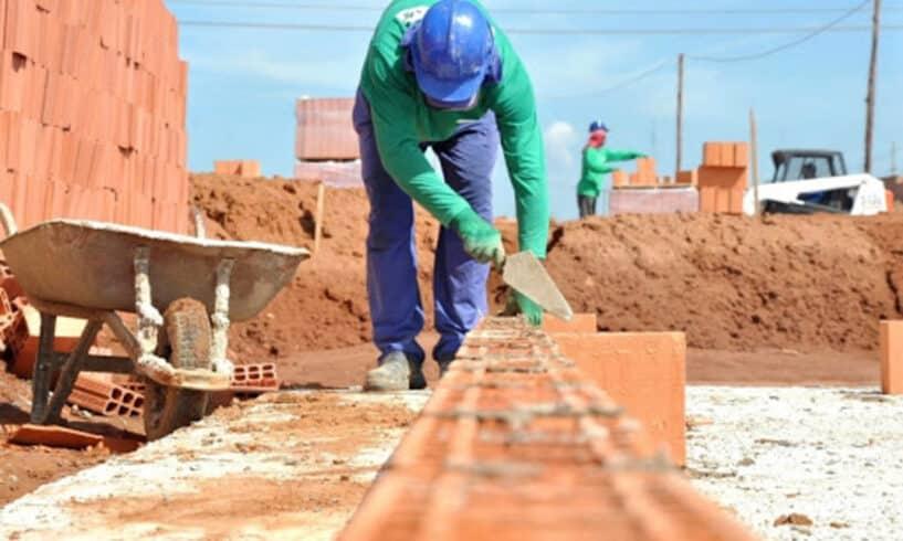 Governo federal - construção civil - vagas de emprego