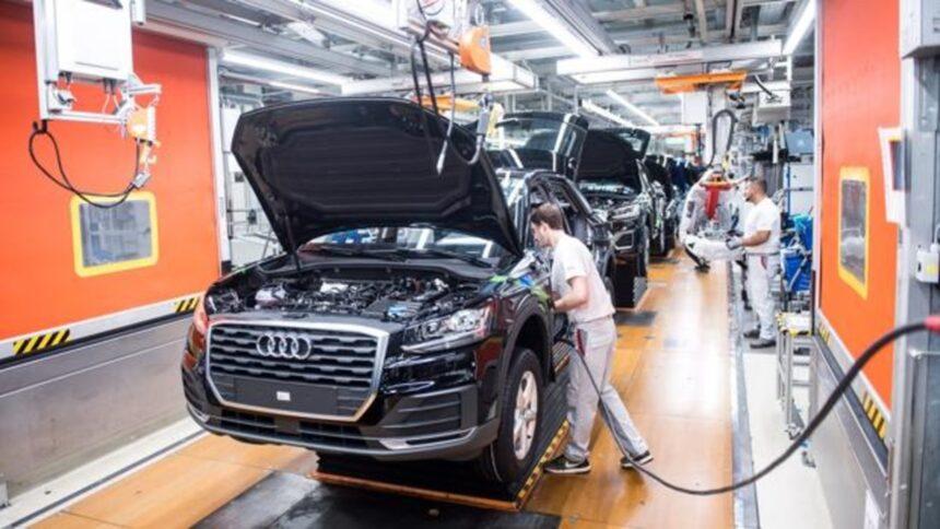 Audi - Volkswagen - produção - veículos