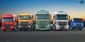 Mercedes, caminhões, investimentos