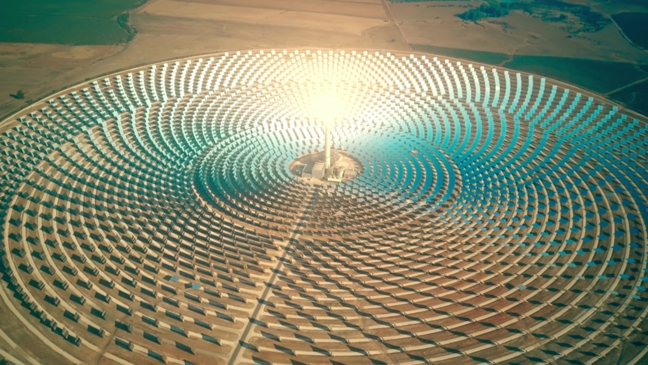 pentágono - energia solar - espaço