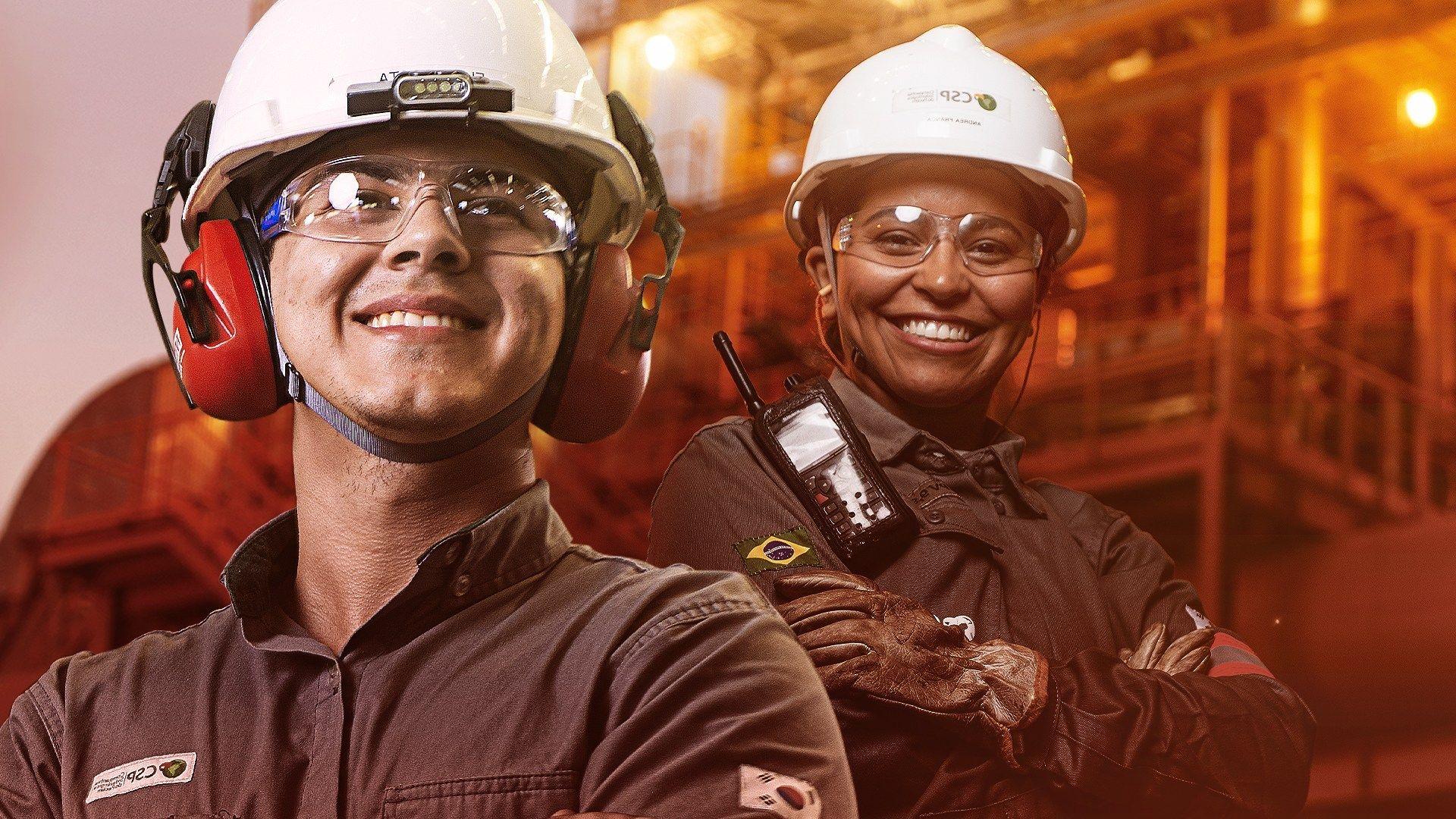 emprego, Ceará, siderúrgica
