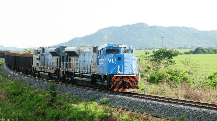 Ferrovias, obras