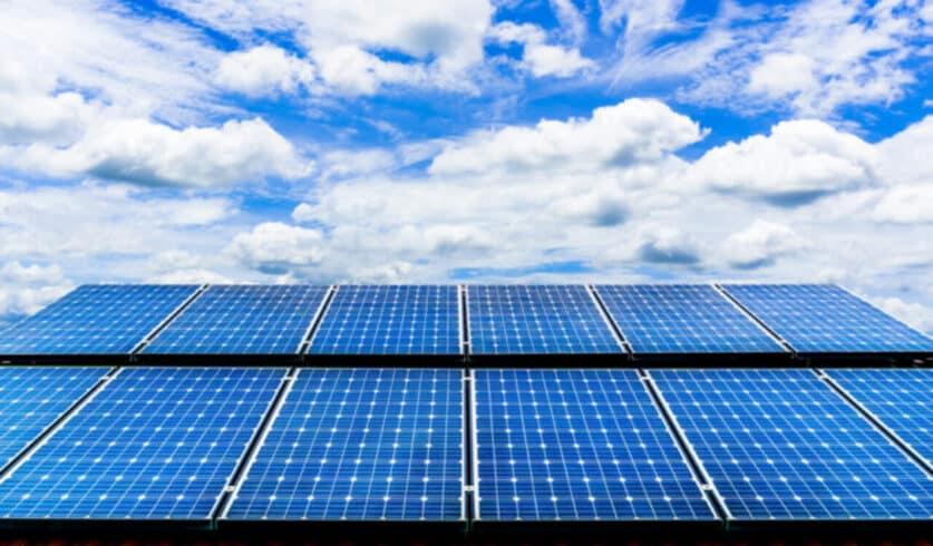 Energia solar - rede elétrica - sistema