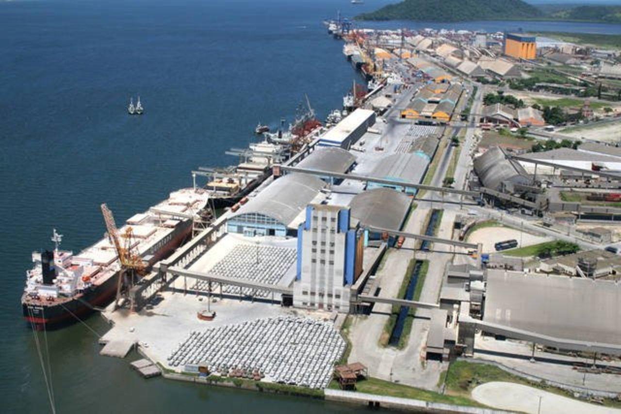 Porto de Paranaguá - navios - operacional