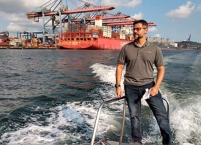 Práticos navios treinamento
