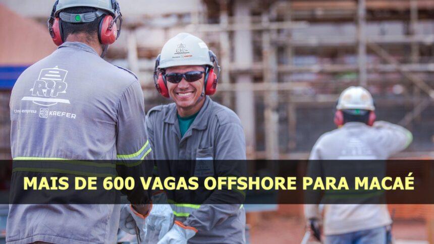 emprego - macaé - vagas - offshore