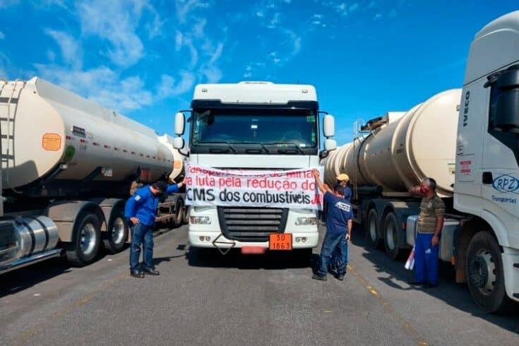 Minas Gerais, greve, óleo diesel